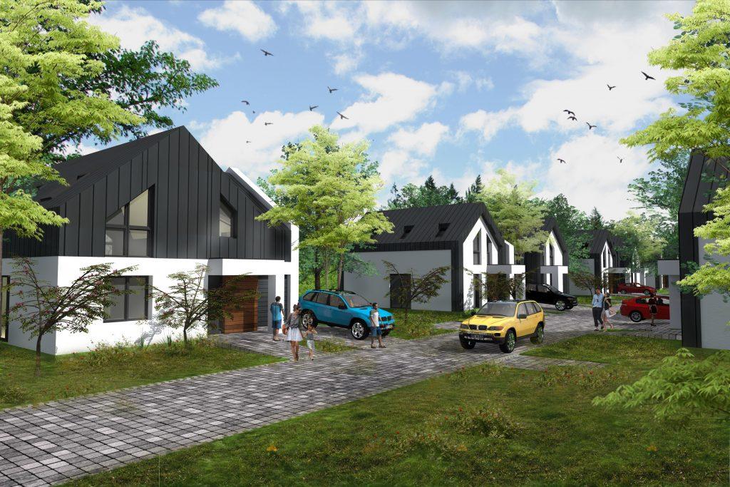 domy energooszczędne projekt