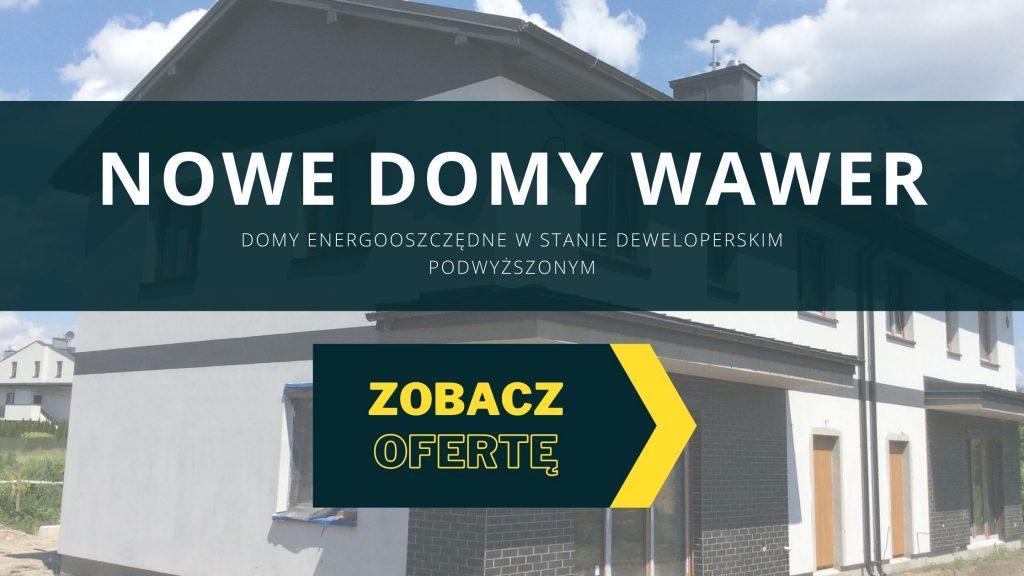 Domy energooszczędna Warszawa Wawer - baner